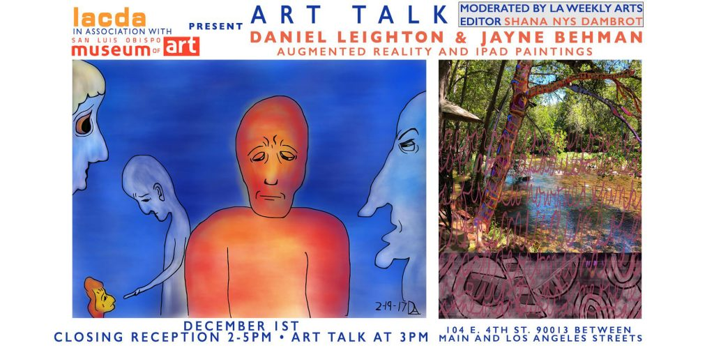 Augmented Reality & Digital Art - Art Talk and Closing Reception